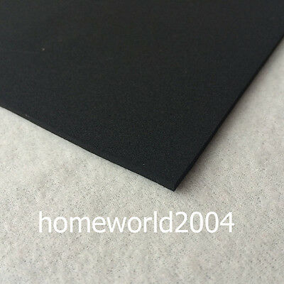 FELT FABRIC 4mm thick 100cm wide sold by metre BLACK