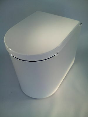 D Shape Design Composting Toilet, Chemical Toilet alternative, eco loo, Simploo