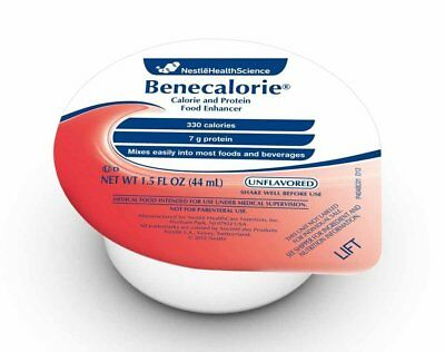 Benecalorie 1.5 oz. Cups Calorie & Protein Enhancer, FRESH PRODUCT! NEW!