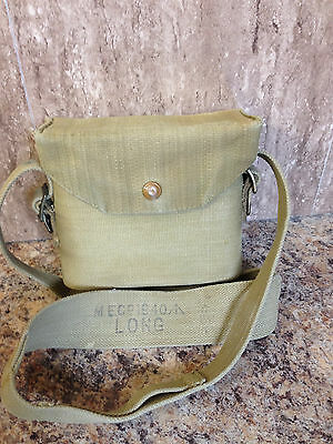 British Canvas Ww2 P37 Binocular Case (1940)