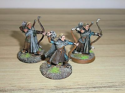 Warhammer Lord of The Rings / Hobbit Last Alliance Elves with Bows x 25