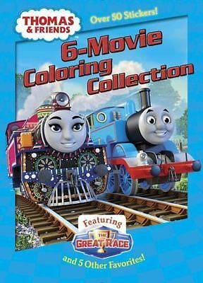 Thomas and Friends 6-Movie Coloring Collection: By Golden Books Durk, Jim