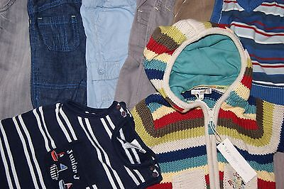 Bundle 8 Baby Boys Clothes Age 0-3 Months Little Rocha (Bnwt) Jasper Conran Etc
