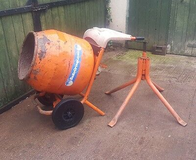 Belle Petrol Mixer & Stand Spares Or Repairs
