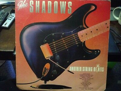 """* THE SHADOWS  Another String of hot Hits LP Record 12"""" Album Vinyl 1980 EMC3339"""