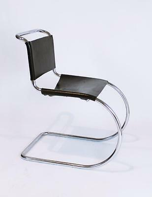 Vintage  German Bauhaus  Ludwig Mies Van Der Rohe Mr Cantilever Leather Chair