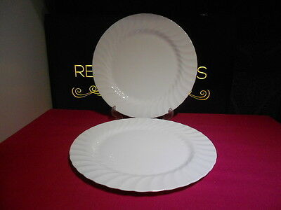 "2 x Wedgwood Candlelight 11"" Dinner Plates 1st Quality 3 Sets Available"