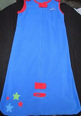 Toddler boys Target blue sleeping bag with lining  Size 2