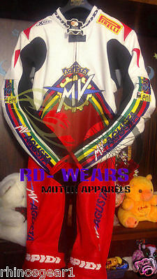 Motorcycle Racing leather Suit Designed For MV agusta 2016 Motorbike All Size