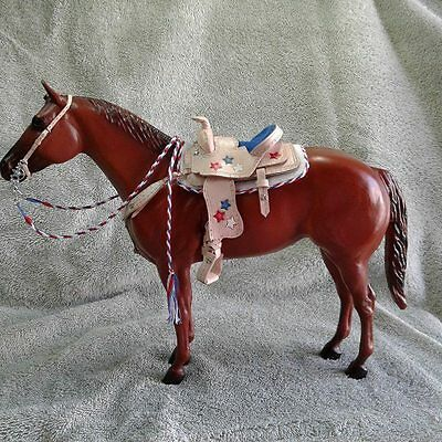 Breyer Stone Model Horse CustomTraditional Size Western Saddle Set