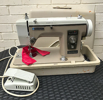 Sewing Machine New Home Model 535 straight only electric working