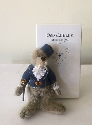 """Deb Canham  """"walrus"""" From Alice In Wonderland - Mohair 3 3/4"""" Limited Edition"""