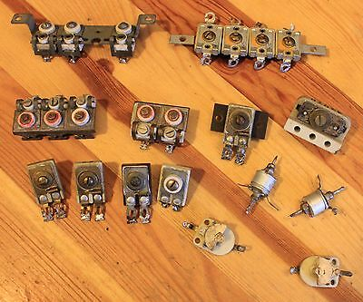 Twentytwo Vintage Trimmers, Various Values from 10PF, All Checked, GWO