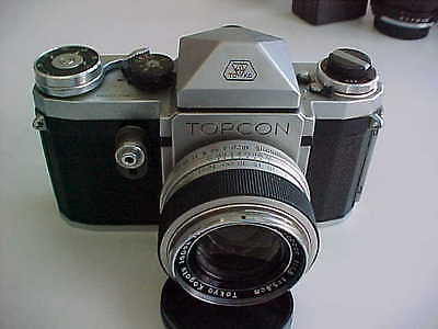 Topcon R camera with a 58mm f1.8 lens  PRICE IMPROVED!