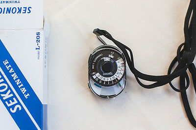 Sekonic Twinmate L-208 Compact Analogue Light Meter - used once