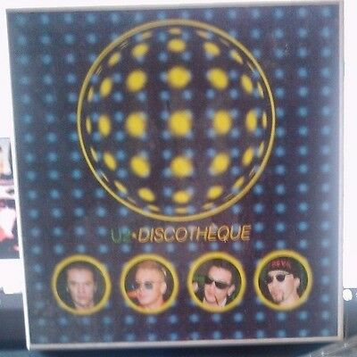 "U2 Discotheque 7"" Box w. 2 cd.singles + booklet + insert"
