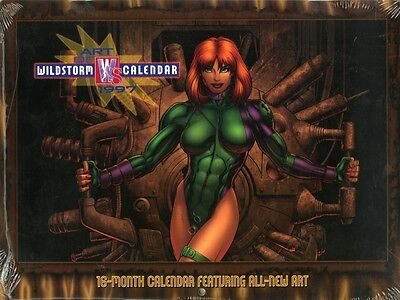 BISLEY+DARROW+ADAMS+KIETH+NOWLAN+HUGHES+ CHAREST etc. WILDSTORM CALENDAR 1997