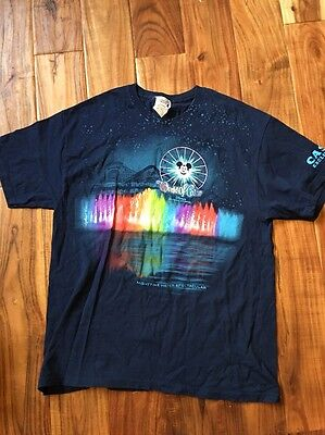 Disney California Adventure Cast Exclusive World Of Color Shirt Large L