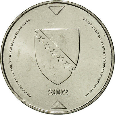 [#464394] BOSNIA-HERZEGOVINA, Konvertible Marka, 2002, British Royal Mint, STGL