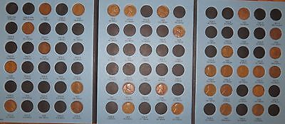 1909 VDB-1940 PDS Lincoln Wheat Penny Cent Collection, 31 coins in Album