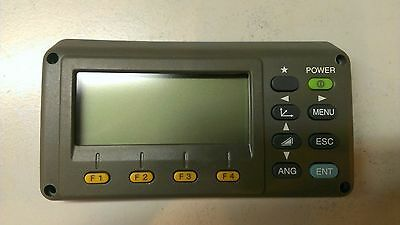 topcon gts-230/330 total station display unit 6453637000