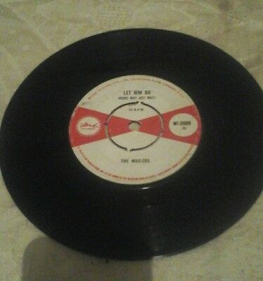 "The Wailers-Let Him Go(Rude Boy Get Bail)Vinyl 7""45Rpm.island.vgc"