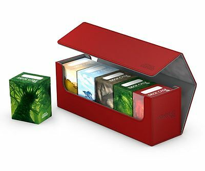 Ultimate Guard - Flip Case Archive 400+ XenoSkin Red - Card box Deck Boxing