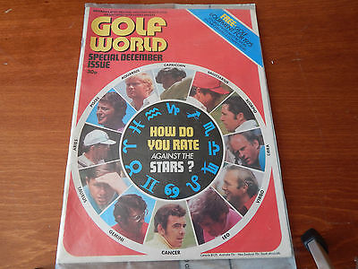 New Sealed Old Golf World Magazine Special December Issue 1974 How Do You Rate