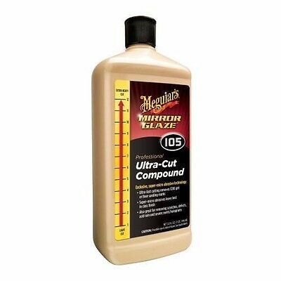 Meguiars Meguiar's Ultra Cut Compound #105 M105 32 oz. 946ml Mirror Glaze