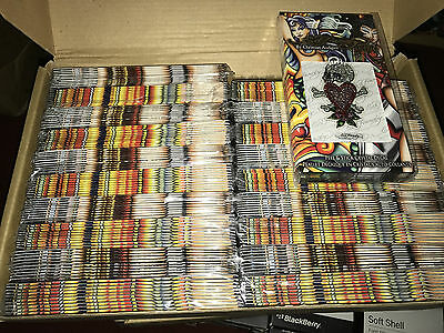 Job lot of 200 x Ed Hardy 'Skull + Heart' Crystal Decals