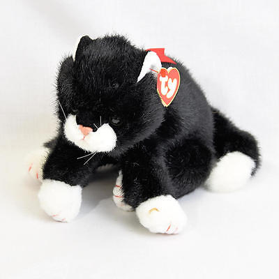 """Rare Ty Classic Beanie Buddies Buddy Boots The Cat MINT With Tags 11"""" 1997"""