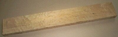 Hades Roasted Maple, 4A Birdseye Strat or Tele Luthier Guitar Neck Blank