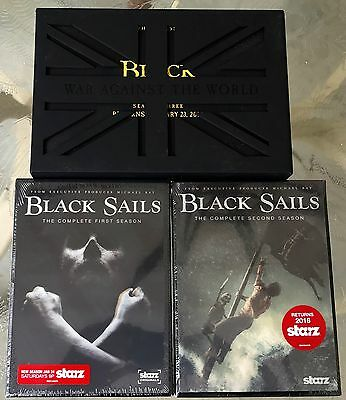 Black Sails Press Kit and First and Second Season DVDs