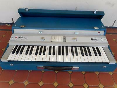 c1965 Vintage Serviced Ace Tone Electronic Organ Phenix Model Top-3 Perf.Working
