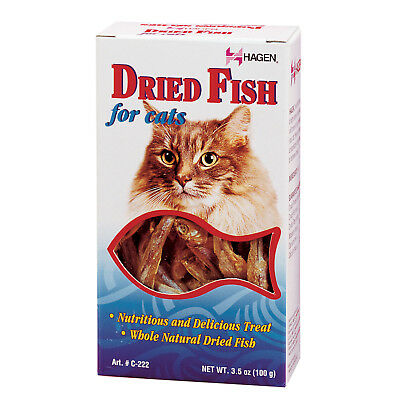 Hagen Dried Fish For Cats 100g Natural Healthy Kitten Cat Treat Snack Reward