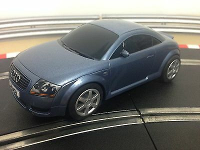 Scalextric Car Audi TT Blue