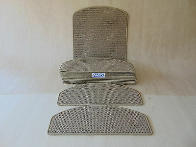 Stair Carpet Pads treads 55 cm x 20 cm  14 off and 76 cm x 46 cm 1 off 2350