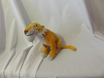 "12"" cute soft Shere Khan tiger from the jungle book disney store plush doll"