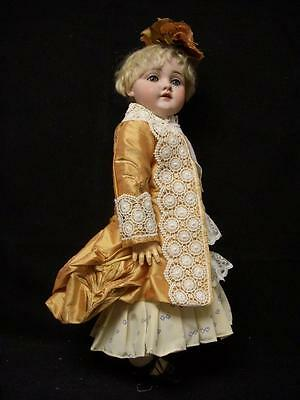 """Bru Type Doll Dress and Jacket – Antique style for 18"""" French, German doll – D3"""