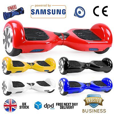 Uk Official Hoverboard 2 Wheel Self Balancing Board Swegway Electric Scooter Blu