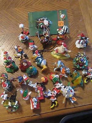 26 Pc. Christmas Ornament Lot- Mostly Disney