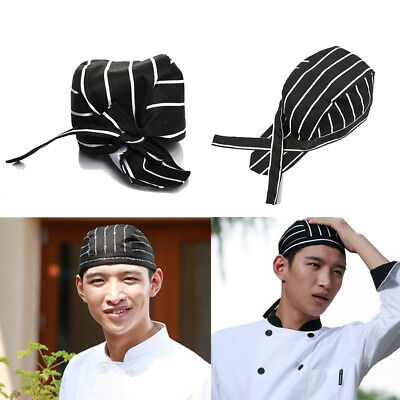 Fashion Cool Men Women Chef Hats Catering Baker Waiter Kitchen Cook Caps US Ship
