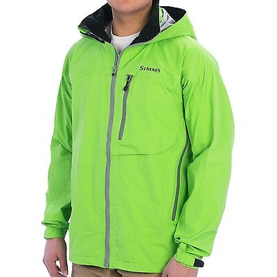 NEW W/TAG  Simms Acklins Gore-Tex Men's Fishing  Jacket - Waterproof  -Green - M