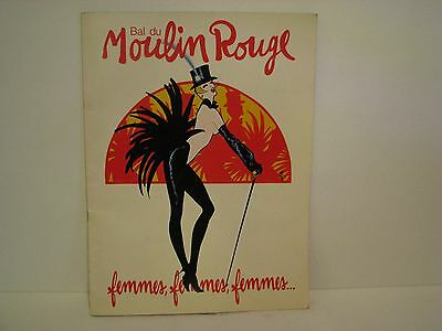 Bal du Moulin Rouge 1983 Program