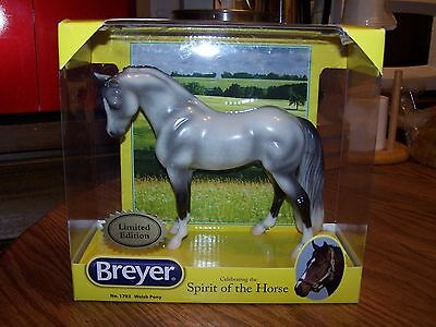 Breyer Horse New in Box Glossy Welsh Pony Icicle
