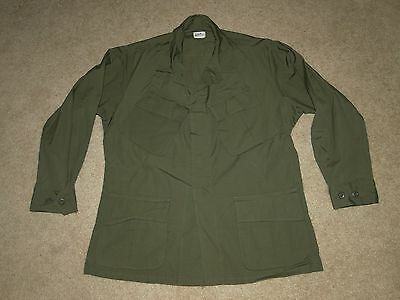 Vintage 1970 Vietnam War US Army USMC  jacket Military Uniform MEDIUM-SHORT