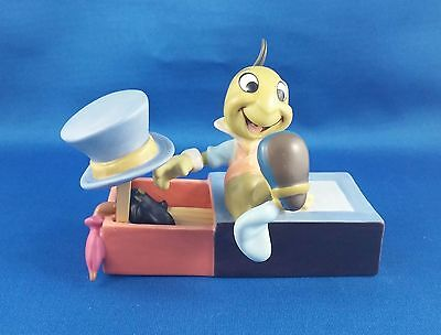 Limited Edition Walt Disney Collection Jiminy Cricket Sculpture Pinocchio' 60th