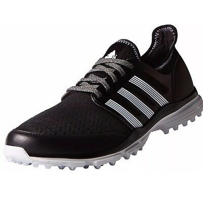 ADIDAS CLIMACOOL GOLF shoes F33223 Size 9 Black And White New ...