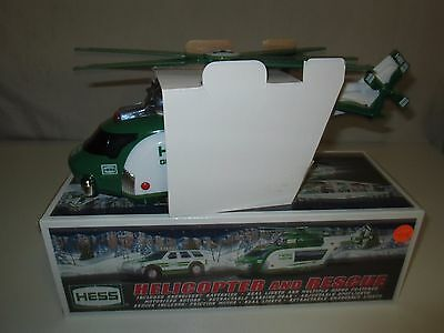 NIB Hess Helicopter and Rescue Toy Truck 2012