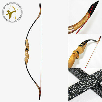 Take down Recurve Bow 50 LBS 28''Draw Length Archery Hunting Traditional Longbow